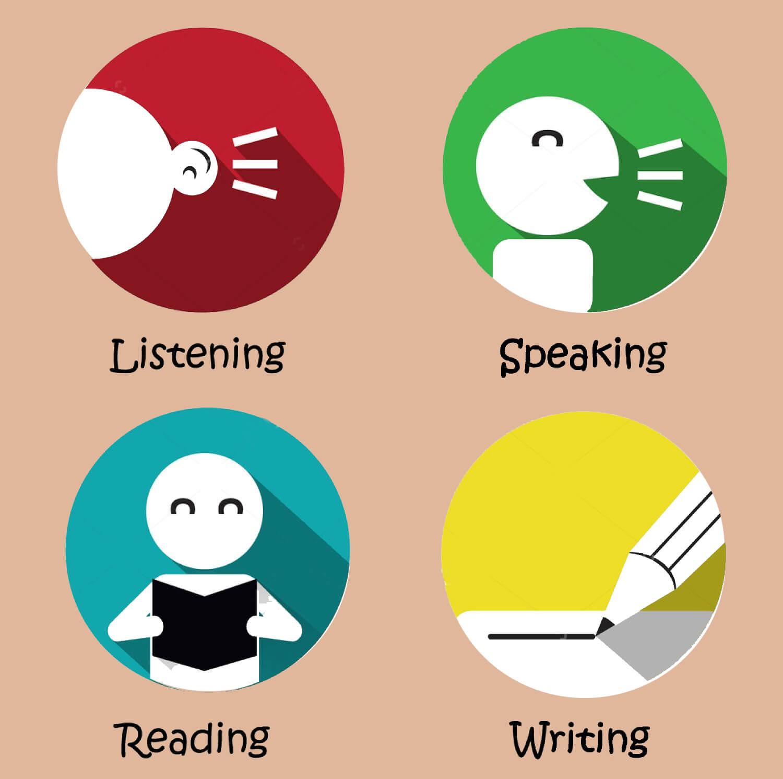 Phát triển đều cả 4 kỹ năng nghe, nói, đọc, viết giúp các em luyện phản xạ và khả năng ghi nhớ tốt hơn.